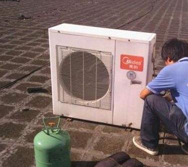 美的空调不制冷加氟